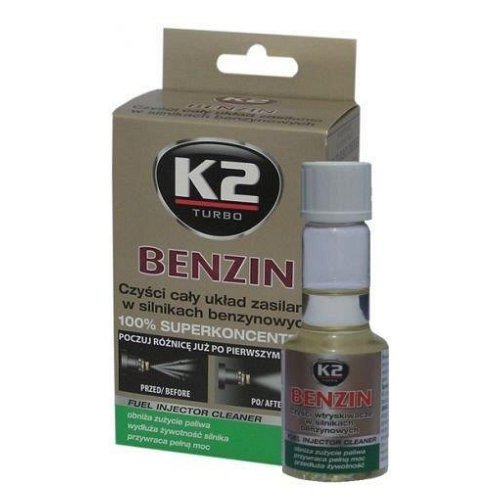 K2 BENZIN 50 ml, aditiv do paliva