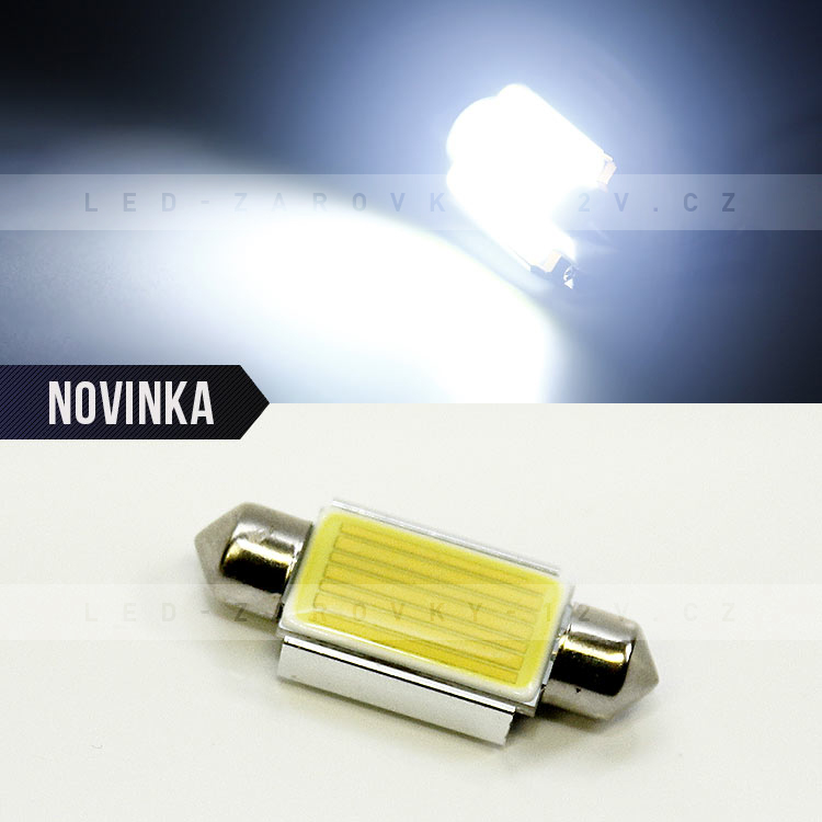 CAN BUS sufitka bílá, HIGH POWER SMD LED, 39mm